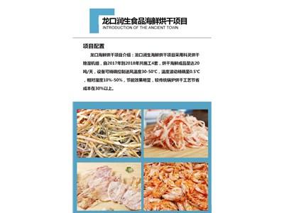 「案例展示」龙口润生食品海鲜烘干项目